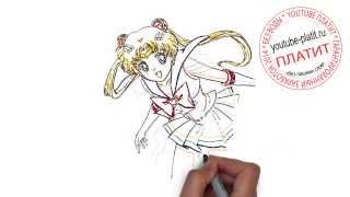 Смотреть сейлормун аниме   Как нарисовать сейлормун поэтапно карандашом