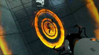 Прикол в игре Portal