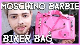 MOSCHINO Jeremy Scott Barbie biker bag review