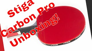 Unboxing of STIGA Carbon Pro Table Tennis Paddle!
