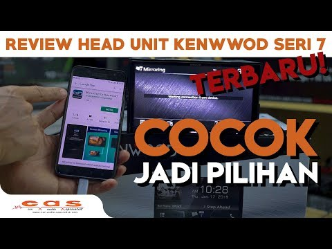 REVIEW : HEADUNIT KENWOOD SERI 7 TERBARU