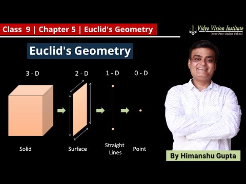EUCLID'S GEOMETRY || Part 1 - Introduction || NCERT - Class