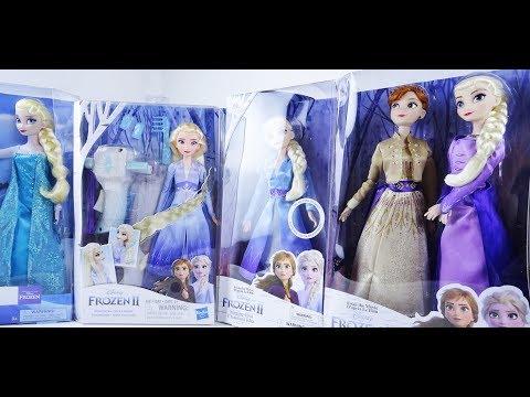 Куклы Холодное Сердце 2: Анна и Эльза от Disney и Hasbro сравнение