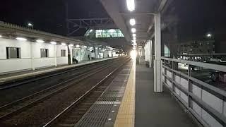 回9811M 373系F10編成急行▲▲中山道トレイン 2020号▲▲ 送り込み回送 安倍川駅通過‼️
