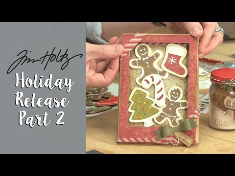 'Tis The Season with Tim Holtz's Designs