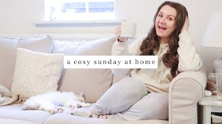 VLOG | Sunday In My Life, Weekly Reset, Healthy Food Haul & Relaxing With My Ragdoll Kitten