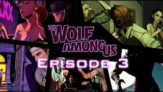 The Wolf Among Us: Episode 3 (A Crooked Mile) All Cutscenes Game Movie 1080p