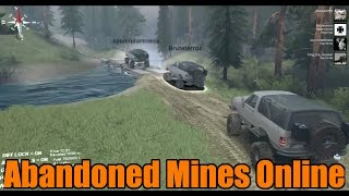 Spin Tires | Modded Multiplayer | Abandoned Mines | Part 1