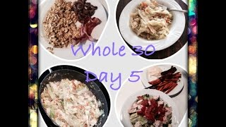 Whole 30 Day 5-Egg Roll in a Bowl, Compliant Yum Yum sauce +RECIPES