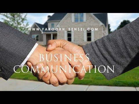 LESSON 1  BUSINESS COMMUNICATION