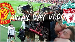 LALLANA GRABS A POINT! MAN UNITED 1-1 LIVERPOOL | AWAY DAY VLOG
