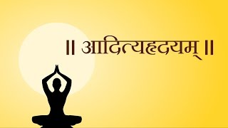 Aditya Hridayam Stotram With Hindi Lyrics(आदित्यहृदयम्)-Easy Recitation Series