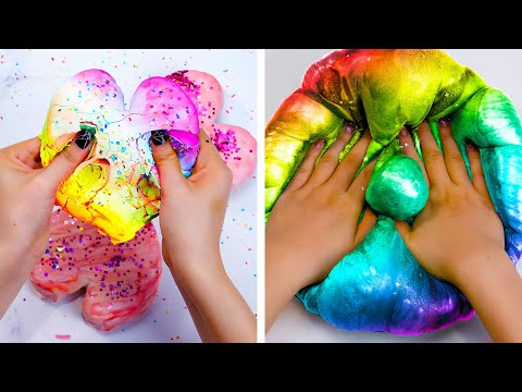 Super Challenge: 3 Hours With Best Satisfying Relaxing Slime ASMR   Best Satisfying Slime Videos #43 indir