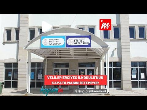 Veliler Erciyes İlkokulu'nun Kapatılmasını İstemiyor