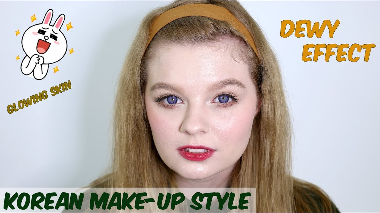 Korean Make Up Tutorial De Machiaj Giveaway Lentile De Contact