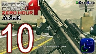 Modern Combat 4: Zero Hour Android Walkthrough - Part 10 - Mission 9: Hammerstrike