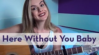here without you   3 doors down   carina mennitto cover