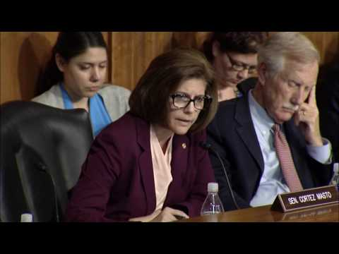 Cortez Masto Rips Energy Secretary Rick Perry for Breaking Promise to Nevada