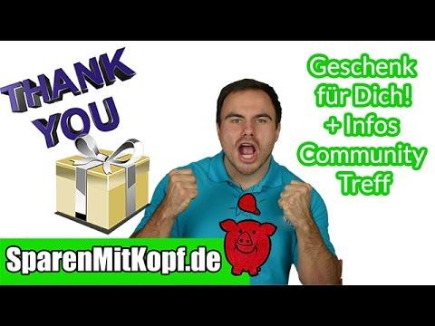 Mein 10K Abo Geschenk an dich und Infos Community Treffen in Frankfurt