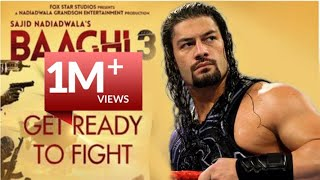 Get Ready to Fight Reloaded | Roman Reigns | Baaghi 3 | Remak