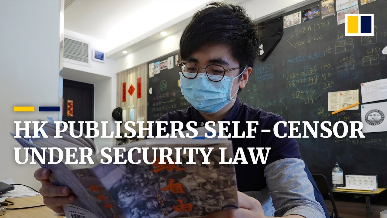 Hong Kong publishers resort to self-censorship under new security law