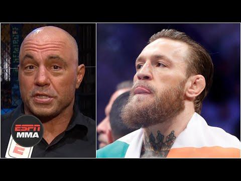 Joe Rogan, Dana White React To Conor McGregor's Retirement Tweet   ESPN MMA