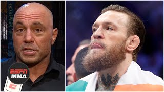 Joe Rogan, Dana White react to Conor McGregor's retirement tweet | ESPN MMA