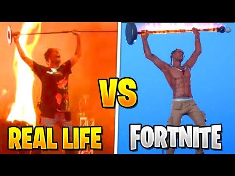 *NEW* Fortnite Dances IN REAL LIFE! (NEW EMOTES + SKINS)