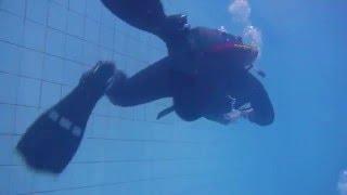 Тест в бассейне Nikon Coolpix AW130