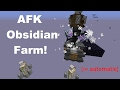 AFK Obsidian Farm!- with Ender Crystal Wither cage [∞ auto] 1.13-1.11 Vanilla Survival | Ray's Works