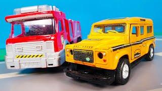 Мультики для детей про машинки - Мультфильмы с игрушечными машинками все серии смотреть онлайн.