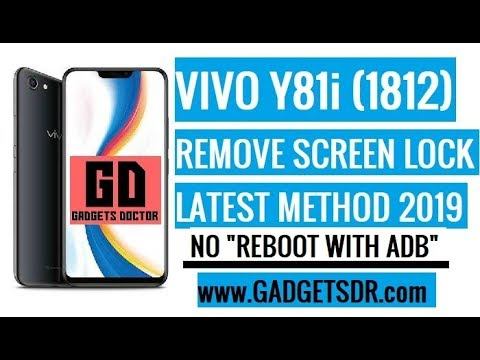 Remove Vivo Y81i Pattern Lock (Remove Vivo 1812 Screen Lock