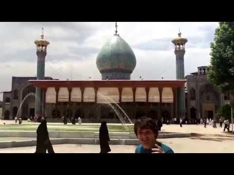 Viaje a Iran. Shiraz.  Mezquita de Shah-e-cheragh. Shrine. Travel to Iran.