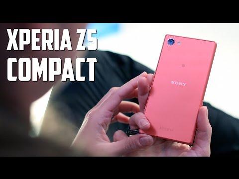 Sony Xperia Z5 Compact, primeras impresiones