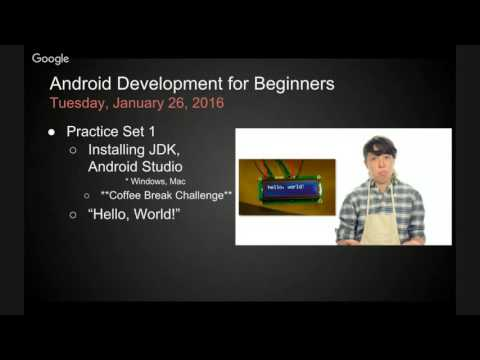 Android for Beginners Study Group: Meeting 3