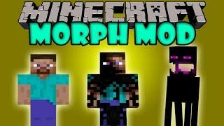 MORPH MOD - Transformate en cualquier MOB - Minecraft mod 1.6.4,1.7.2 y 1.7.10 Instalacion ESPAÑOL