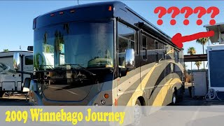 Winnebago's Roof Mistake Required New Roof: 2009 Journey