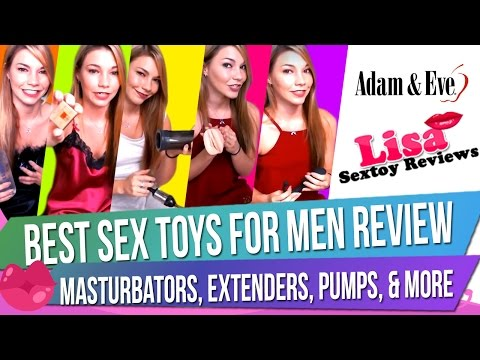 Male Sex Toy Haul: Best Sex Toys for Men Review – Masturbators, Extenders, Pumps, & More