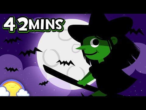 Halloween Songs for Children! | 42 Minute Compilation | CheeriToons