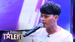 Aarone Khin Zaw: Auditions | Myanmar's Got Talent 2019