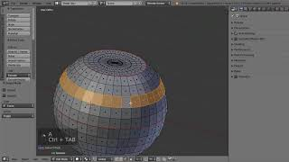 Blender Урок - Инструменты выделения меша. 02 - Продвинутые инструменты 1