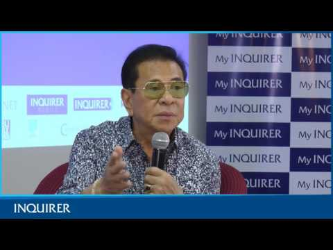 Chavit Singson Meets Inquirer Multimedia (FULL VIDEO)