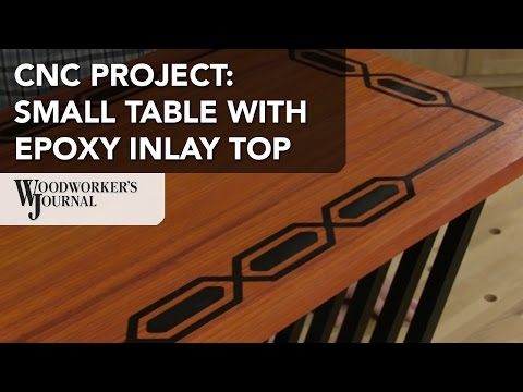 Making a Small Table Using a CNC Router