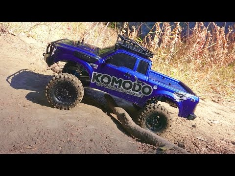 RC ADVENTURES - G Made Komodo 4x4 1/10 Electric Trail Truck - King Shock Upgrade PART 2