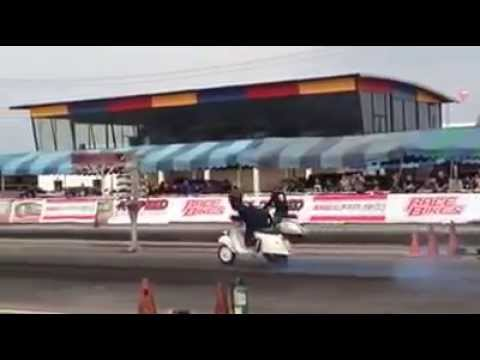 การแข่งขัน สกู๊ตเตอร์ สนามแข่งรถเทพนคร 16-11-57