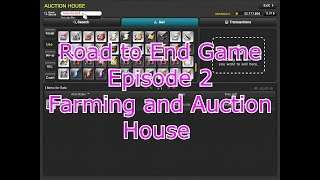 [Maplestory V] Road to End Game Episode 2 : Farming and Auction House. The Lazy Way.