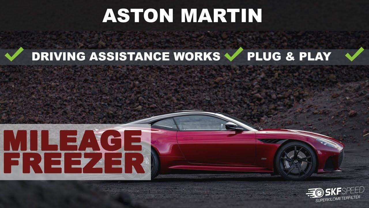 New Aston Martin Mileagefreezer Three New Models Kilometerstopper Youtube