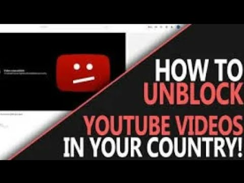 How To View A YouTube Video Blocked In Your Country Using YouTube App Android & IPhone