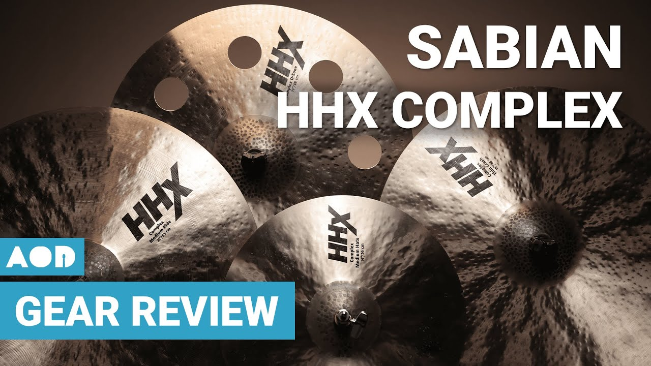 Download Sabian HHX Complex Cymbals   Drum Gear Review