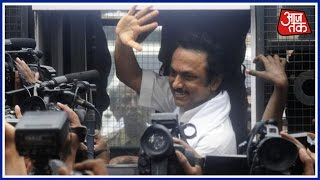 MK Stalin Detained In Chennai While Protesting, Released Later